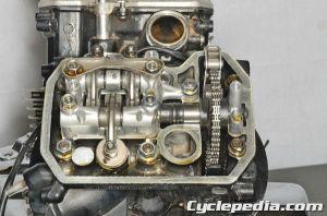 20012007 Honda VT750DC Shadow Spirit Engine valve