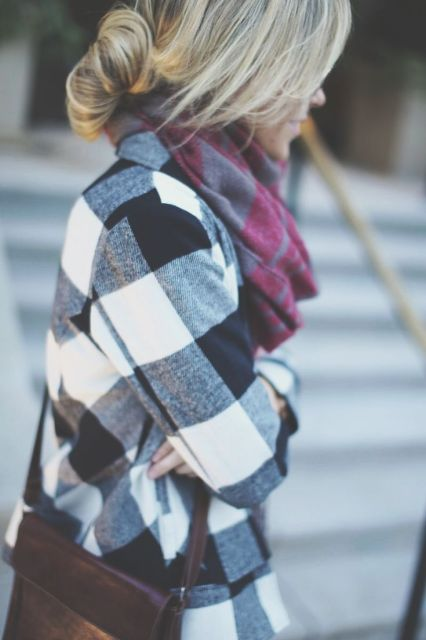 Fall Plaid Layers...if only in FL: