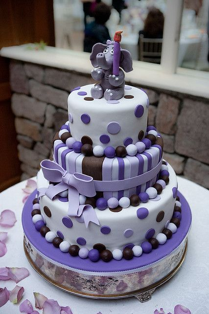 222 Best Images About Elephant Cakes On Pinterest
