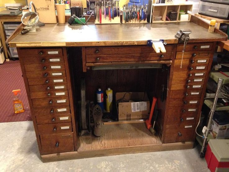 Watchmaker S Bench For The Studio Pinterest Photos