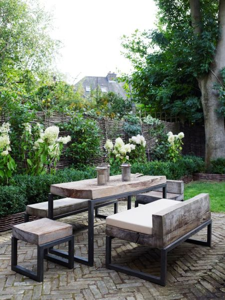 rustic outdoor patio furniture 1000+ ideas about Rustic Outdoor Furniture on Pinterest