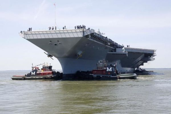 17 Best ideas about Uss Gerald R Ford on Pinterest | Navy ...