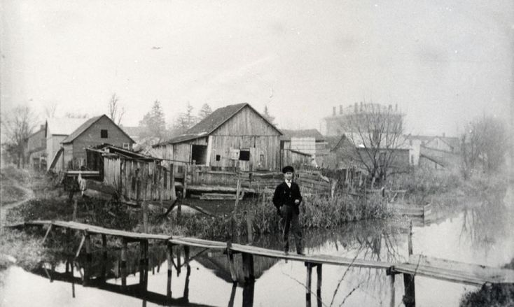 Groveport Ohio History Over The Ohio Amp Erie Canal Taken In 1906 Or 1908 Photo Courtesy