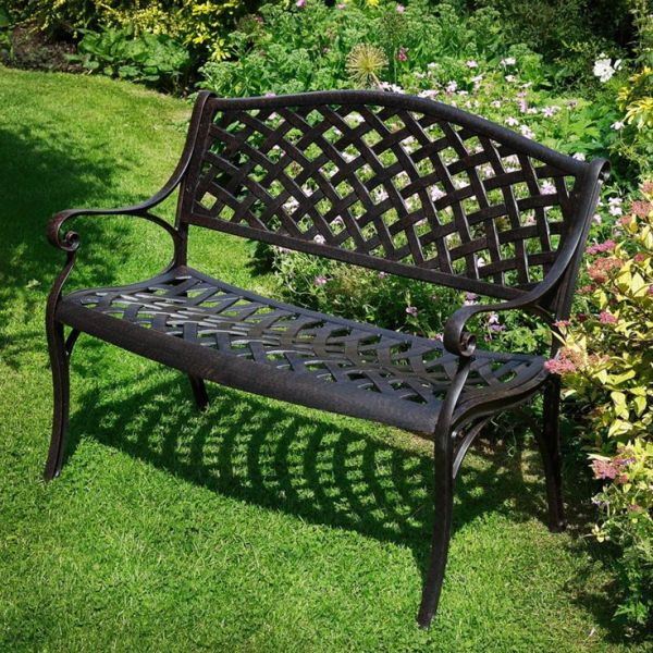 steel roundabout garden bench 25+ Best Ideas about Metal Garden Benches on Pinterest