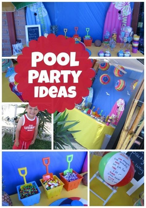17 Best Ideas About Kid Pool Parties On Pinterest Kid