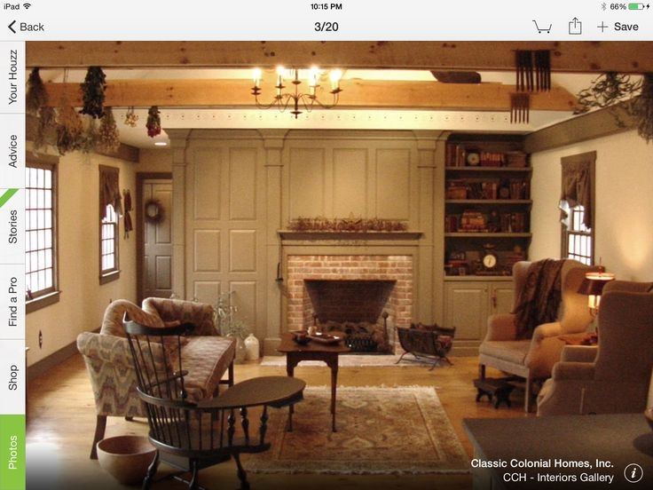 1000 Images About Colonial Main Living Rooms And Decor On