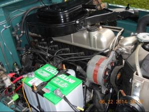 FJ40 Engine Bay 2F | Toyota Land Cruiser FJ40 FJ45 FJ55