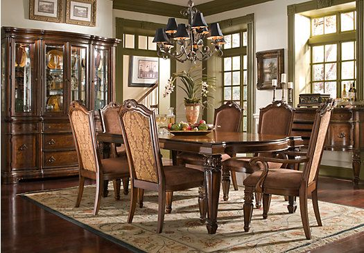 shop for a north boston 9 pc dining room at rooms to go on rooms to go dining room furniture id=90989