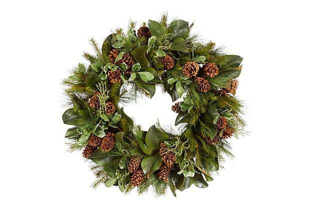 33 Evergreen Wreath Dried Wreaths Products And Evergreen