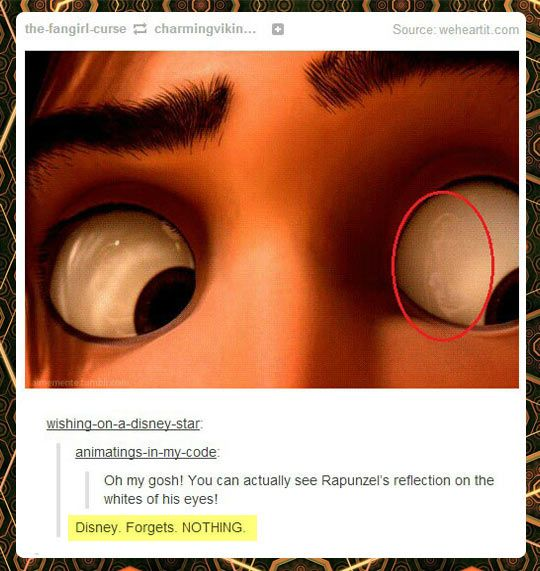 Disney forgets nothing