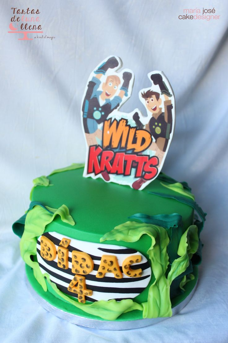 Tarta Hermanos Kratts Wild Kratts Cake Www