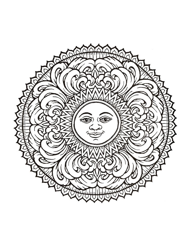 17 Best Images About Wiccan Pagan Coloring Pages On