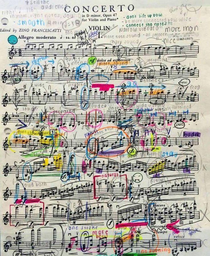 musical score, bladmuziek