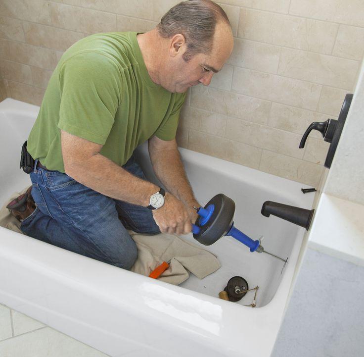17 Best Ideas About Unclog Bathtub Drain On Pinterest Diy Drain Cleaning Unclogging Drains