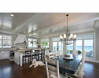 Ultimate Kitchen house plans feature super-spacious floor plans, eat-in areas with fireplaces, room-sized pantries, and separate