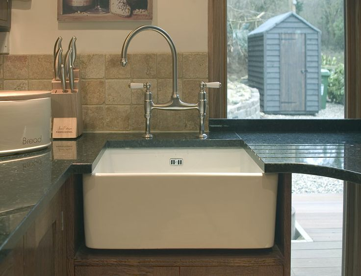 Butler Sink And Granite Worktop Home Pinterest