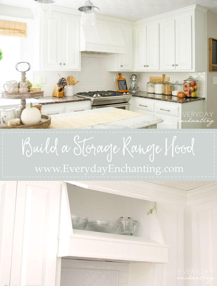 build your own diy storage range hood at a fraction of the on brilliant kitchen cabinet organization and tips ideas more space discover things quicker id=62219