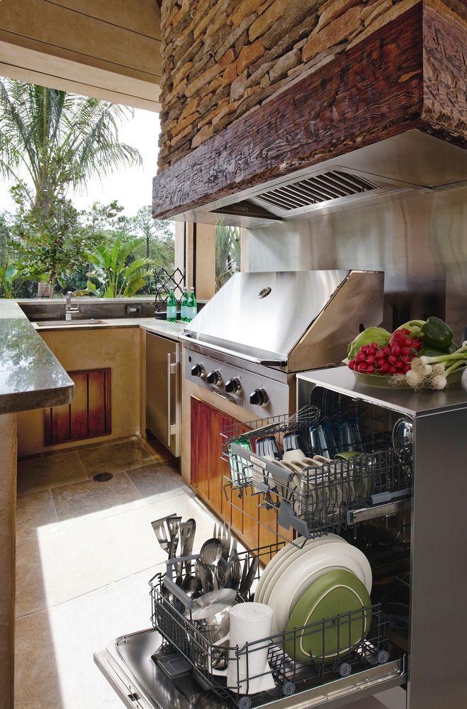 260 best outdoor kitchen design ideas images on pinterest on outdoor kitchen id=68385