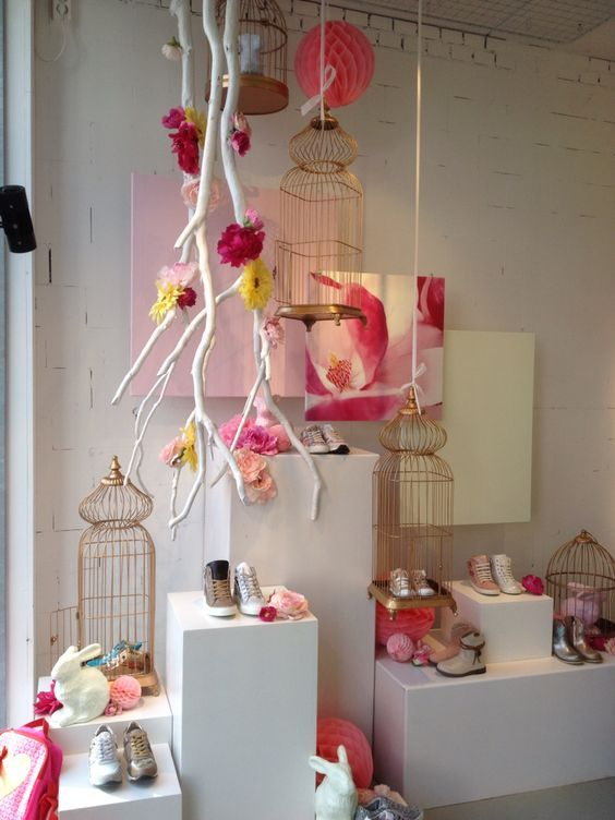 1000 Ideas About Spring Window Display On Pinterest