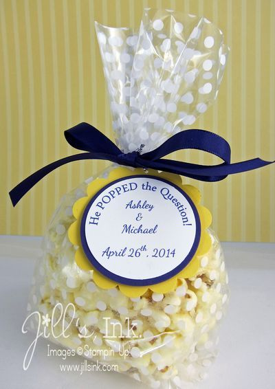 Simple Wedding Shower Favors