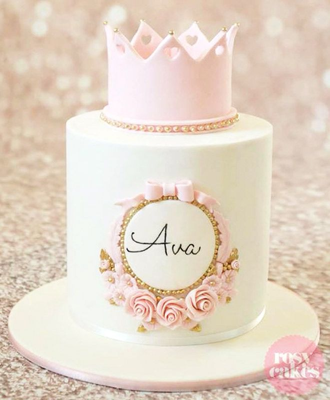 25 Best Ideas About Princess Crown Cake On Pinterest