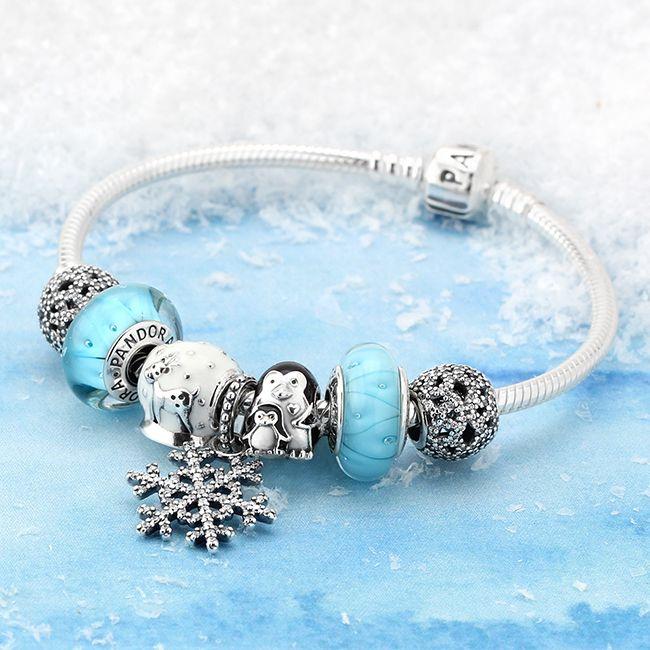 PANDORA Let It Snow Charm Bracelet