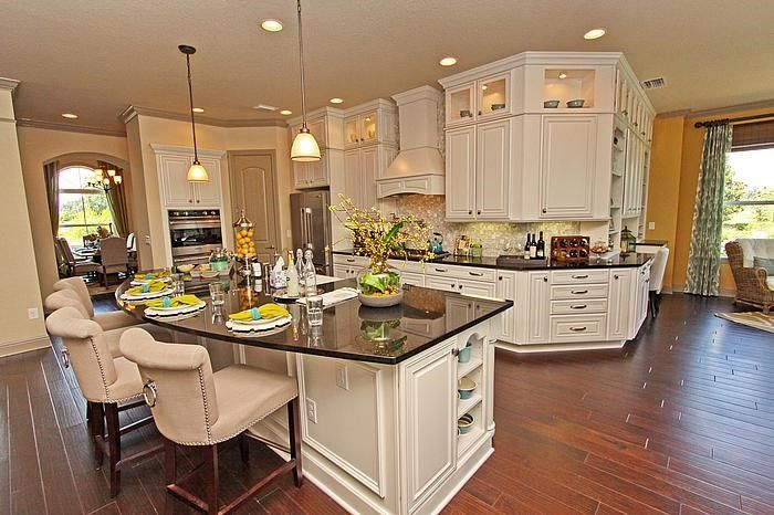 Another view of the pretty model home kitchen. | Kitchen ... on Modern:ln_Sacsp1Ua= Kitchen Model  id=30535