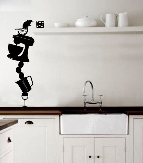 53 best images about funky kitchen wall stickers on on wall stickers for kitchen id=85890