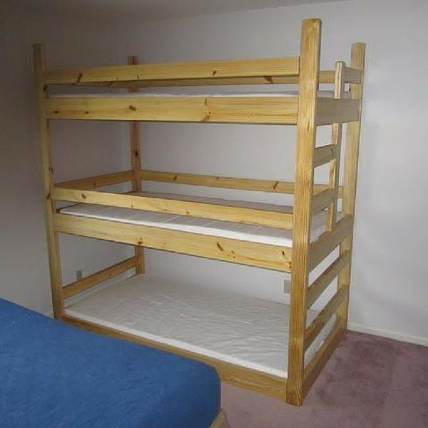 Triple Bunk Bed Ikea Novocom Top