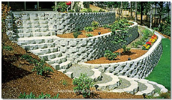 714 best images about retaining wall ideas on pinterest on retaining wall id=53691
