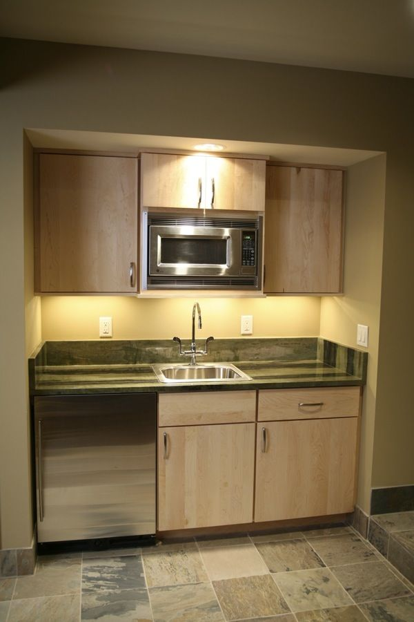 16+ Extremely Awesome Basement Kitchen That Look As Fabulous