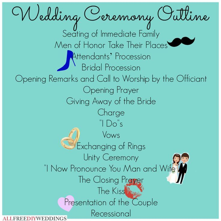Basic Wedding Ceremony Script