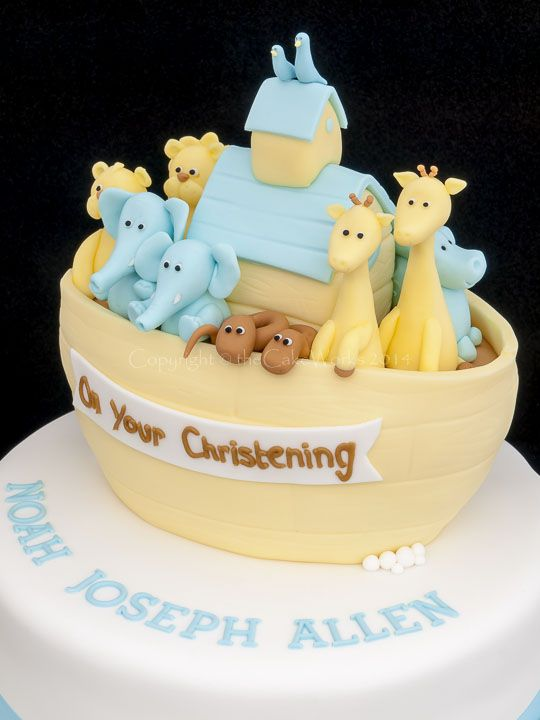 Unusual Christening Cakes