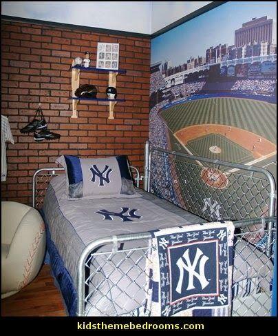 Boys Baseball Bedroom Decorating Photos Of Room For Joy Max S