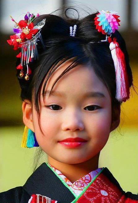 Lovely smile from Japan