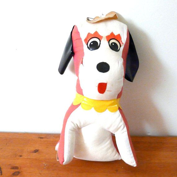 Vintage Carnival Prize Stuffed Animal Toys Vintage By