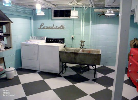 12 finishing touches for your unfinished basement coats on concrete basement wall paint colors id=19063