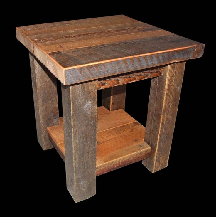 1000 Ideas About Rustic End Tables On Pinterest End