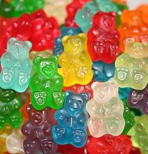 Drunk gummy bears! :) Adults only. Soak a bag of gummy bears in vodka for 3 to 5