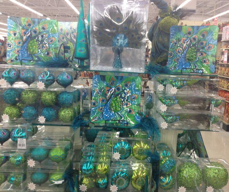 Peacock Holiday Decor Hobbylobby Holiday Decorations