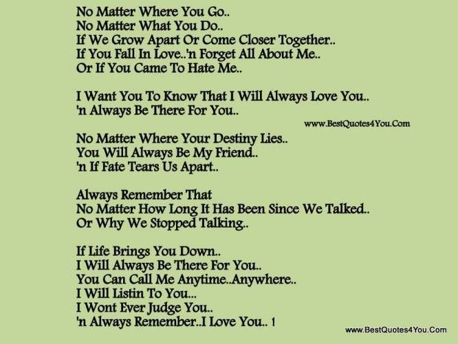 I Will Always Love You Quotes For Him Interesting I Will Always Love You Quotes For Girlfriend Idea Gallery
