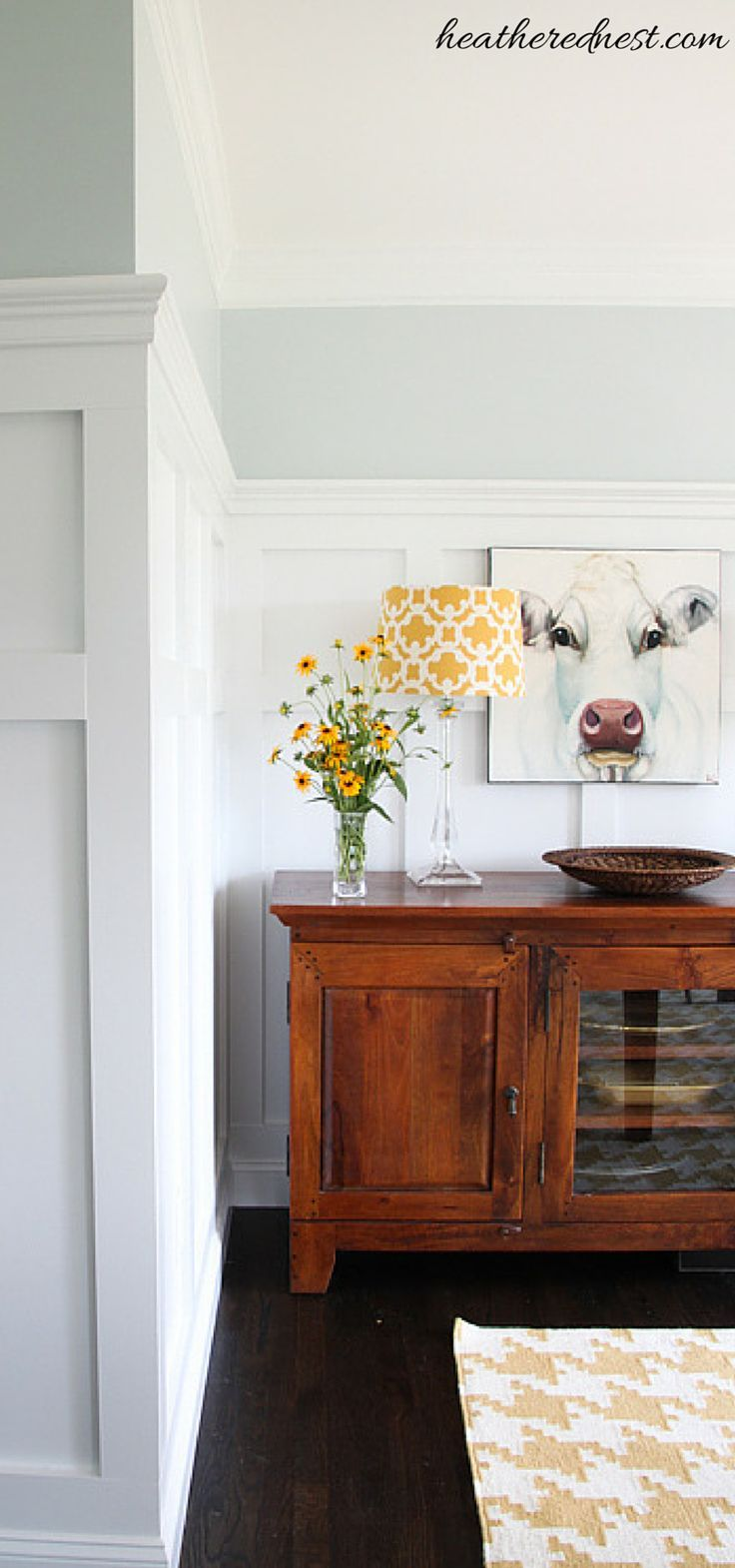 Modern Farmhouse Dining Room After MUCH Drama Pinterest