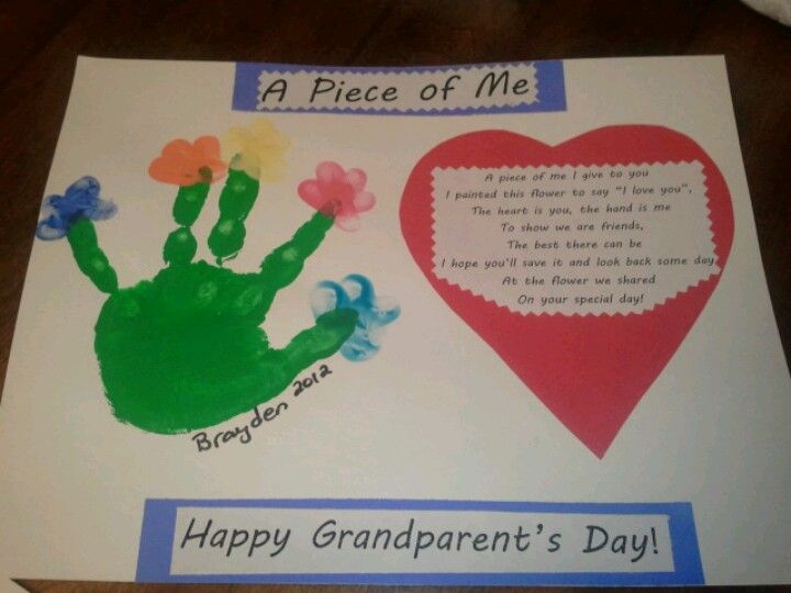 Grandparents Day Craft From My Preschoolers Teachers