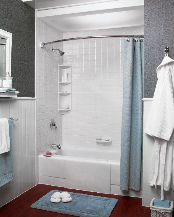 We Love This Simple Grey And White Color Scheme Bath Fitter NW Bath Fitter NW Pinterest