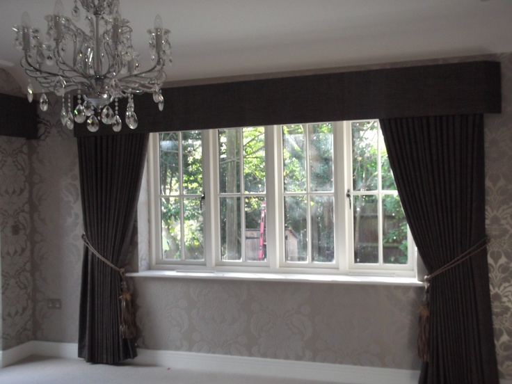 Full Length Curtains With Pelmet Living Room Ideas