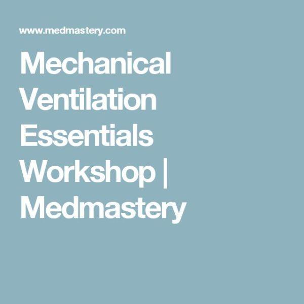 1000+ ideas about Mechanical Ventilation on Pinterest ...