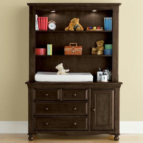 Bedford Baby Monterey Changing Table With Hutch