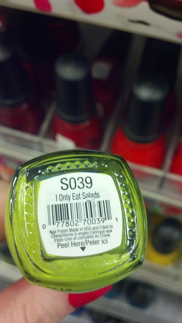 The 25 Most Depressing Nail Polish Color Names Of All Time. AKA Color-coding the lesser of the human