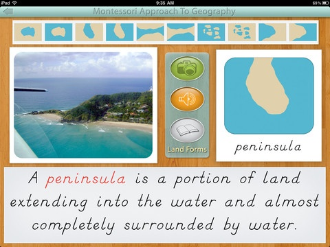 Learn To Identify The Land And Water Forms With This App