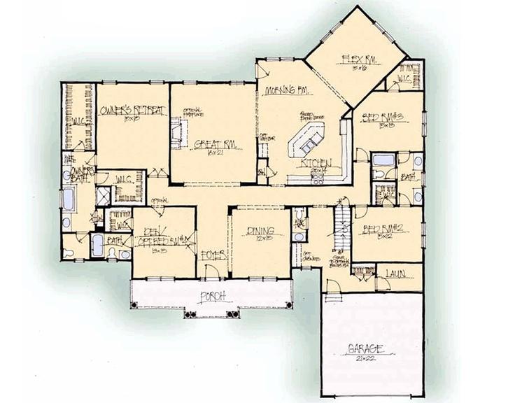 Schumacher Homes: Floorplans - Woodbury Series